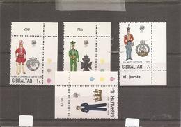 Militaria - Uniformes ( 284/287 XXX -MNH- De Gibraltar) - Militaria