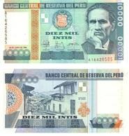 Perú 10.000 Intis 28-6-1988 Pick 140 UNC - Perú