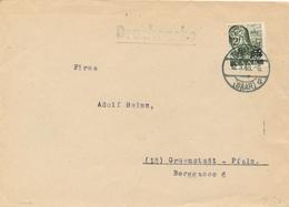 MERZIG - /Saarland - 1948 , Brief Nach Grünstadt - Lettres & Documents