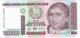 Perú 1.000.000 Intis 5-1-1990 Pick 148 UNC - Perú