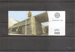 Europa 1990 ( Carnet 1728 XXX -MNh- De Grèce) - Europa-CEPT