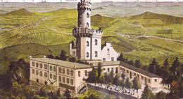Seltene ALTE  AK  DONNERSBERG - Milleschauer - Milesovka / Böhmen / Tschechien  - Bergwirtschaft Etc. - 1931 Beschriftet - Böhmen Und Mähren