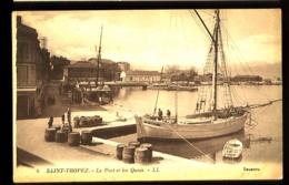 SAINT-TROPEZ - 4 : Le Port Et Les Quais - (animée) - Edit.: LL - Saint-Tropez