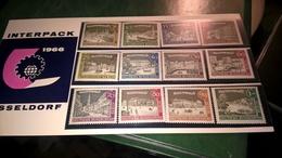GERMANIA BERLINO - BERLIN 1966 INTERPACK DUSSELDORF - INTEGRI - Unused Stamps