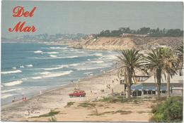 V3387 California - Del Mar - Seagrove Park - Auto Cars Voitures / Non Viaggiata - Stati Uniti