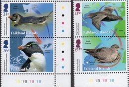 FALKLAND ISLANDS, 2018, MNH, MIGRATORY SPECIES,BIRDS, PENGUINS,  4v - Birds