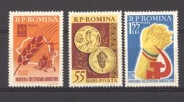 Roumanie  :  Yv  1830-33  ** - 1948-.... Républiques