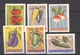Roumanie  :  Yv  1902-07  **     Légumes - 1948-.... Républiques
