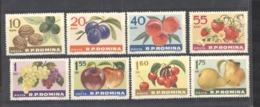 Roumanie  :  Yv  1929-36  **    Fruits - 1948-.... Républiques