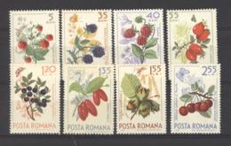 Roumanie  :  Yv  2084-91  **    Fruits - 1948-.... Républiques
