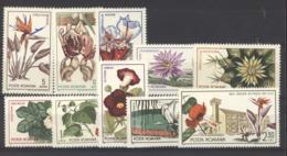 Roumanie  :  Yv  2156-65  **    Fleur - Flower - 1948-.... Républiques