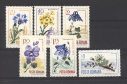 Roumanie  :  Yv  2304-09  **    Fleur - Flower - 1948-.... Républiques