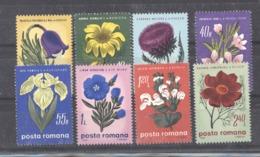 Roumanie  :  Yv  2717-24  **    Fleur - Flower - 1948-.... Républiques