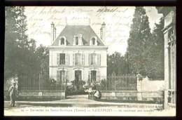 Environs De SAINT-SAUVEUR - SAINTPUITS - 29 : Le Château Des Bordes (animée) - CP Précurseur, Vers 1900, Dos Non Divisé. - Saint Sauveur En Puisaye