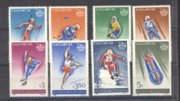 Roumanie  :  Yv  3782-89  **    JO Kalgary - 1948-.... Republics