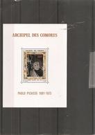 Picasso ( BF 1 XXX -MNh- Des Comores) - Picasso