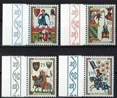 Liechtenstein 1963 // Mi. 433/436 ** - Liechtenstein