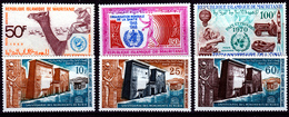 MAURITANIA   UNESCO SET NUBIAN  ETC.   MNH - Mauritania (1960-...)
