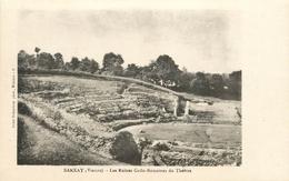 SANXAY RUINES GALLO ROMAINES DU THEATRE - Frankreich