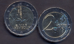 Luxembourg 2 Euro 2018 UNC > (II) 175 Years Since The Death Of Grand Duke William I - Luxembourg
