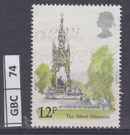 GRAN BRETAGNA      1980Vedere A Londra 12 Usato - 1952-.... (Elizabeth II)