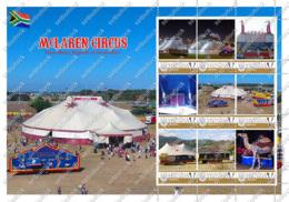 Ukraine. McLaren Circus (South Africa). Personalized. MNH - Cirque