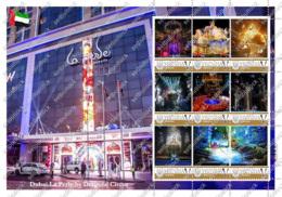Ukraine. Dubai La Perle Circus (UAE). Personalized. MNH - Cirque