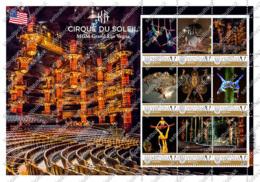 Ukraine. KA Circus By Cirque Du Soleil, Las Vegas (USA). Personalized. MNH - Cirque