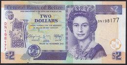 Belize 2 Dollar 2014 Pnew UNC - Belize