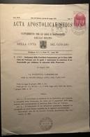 ACTA APOSTOLICAE - 1975 N°5 - Vatican
