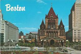 V3391 Boston - Copley Square / Non Viaggiata - Boston