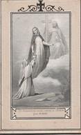 Joannes Franciscus De Roover-machelen 1866-ongelijke Randjes - Devotieprenten