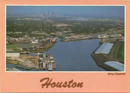 V3393 Houston - Ship Channel / Non Viaggiata - Houston