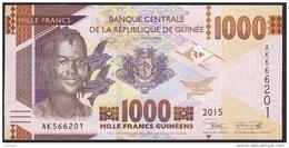 Guinea 1000 Francs 2015 Pew UNC - Guinea