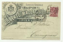 PISA - SERVIZIO GENERALE DI TRASPORTI 1897 - FP - Pisa