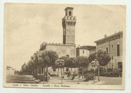 CASTEL S.PIETRO - CASTELLO E TORRE MALVEZZI  - VIAGGIATA FG - Reggio Nell'Emilia