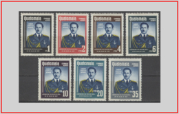 Guatemala 1959 - Cat. PA 235/41 (MLH *) Presidente Castillo Armas - President Castillo Armas (011911) - Guatemala