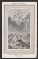 Jean Baptiste Rosart-velaine 1869 - Devotieprenten