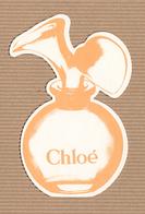 CC Carte Parfumée 'LAGERFELD CHLOE #1' Perfume Card RARE 1 EX.! - Perfume Cards
