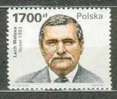 POLAND MNH ** 3105 LECH WALESA. PRIX NOBEL De La Paix - 1944-.... République