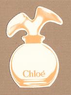 CC Carte Parfumée 'LAGERFELD CHLOE #2' Perfume Card RARE 1 EX.! [2 Scans] - Perfume Cards