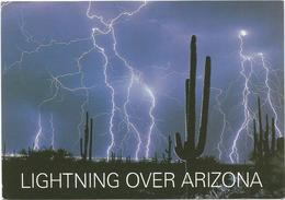 V3400 Lightning Over Arizona - Night Nacht Nuit Noche Notte / Non Viaggiata - Altri