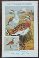 Pologne - Carte Maximum / CM 1963 - YT N°1070 - Faune / Oiseaux  / Outarde Barbue - Cartes Maximum