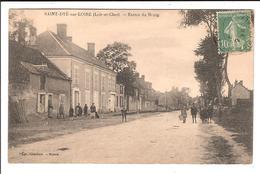 St DYÉ-sur-LOIRE  Cpa - Entrée Du Bourg.  (scans Recto-verso) - France