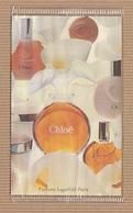 CC Carte Parfumée 'LAGERFELD CHLOE' Perfume Card RARE SEMI ANCIENNE 1 EX.! - Perfume Cards