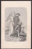 Monsieur Louis Rouselle-roucourt -cure De Leers-nord 1864 - Devotieprenten