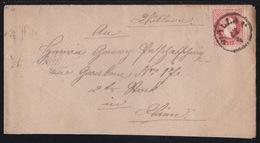 WÖLLAN - Velenje, 5 Kr. Fine Printing, On Cover, Mailed In 1883 - 1850-1918 Empire