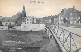 08 - DOUZY : Le Pont - CPA - Ardennes - Francia