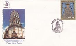 450 AÑOS DE LA CREACION DE LA ARQUIDIOCESIS DE LA PLATA FDC 2003 BOLIVIA - BLEUP - Bolivia