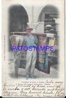 105270 CUBA LA HABANA COSTUMES SELLER VENDEDORES DE HULES Y ESCOBAS POSTAL POSTCARD - Postcards